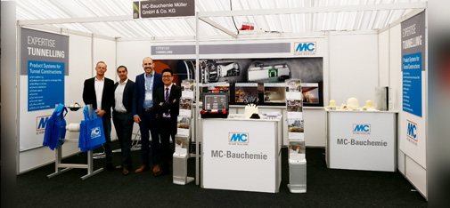 MC team shows MC's tunnel-related expertise at the WTC in Bergen.